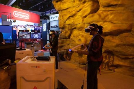 Farpoint_E3_booth_setup