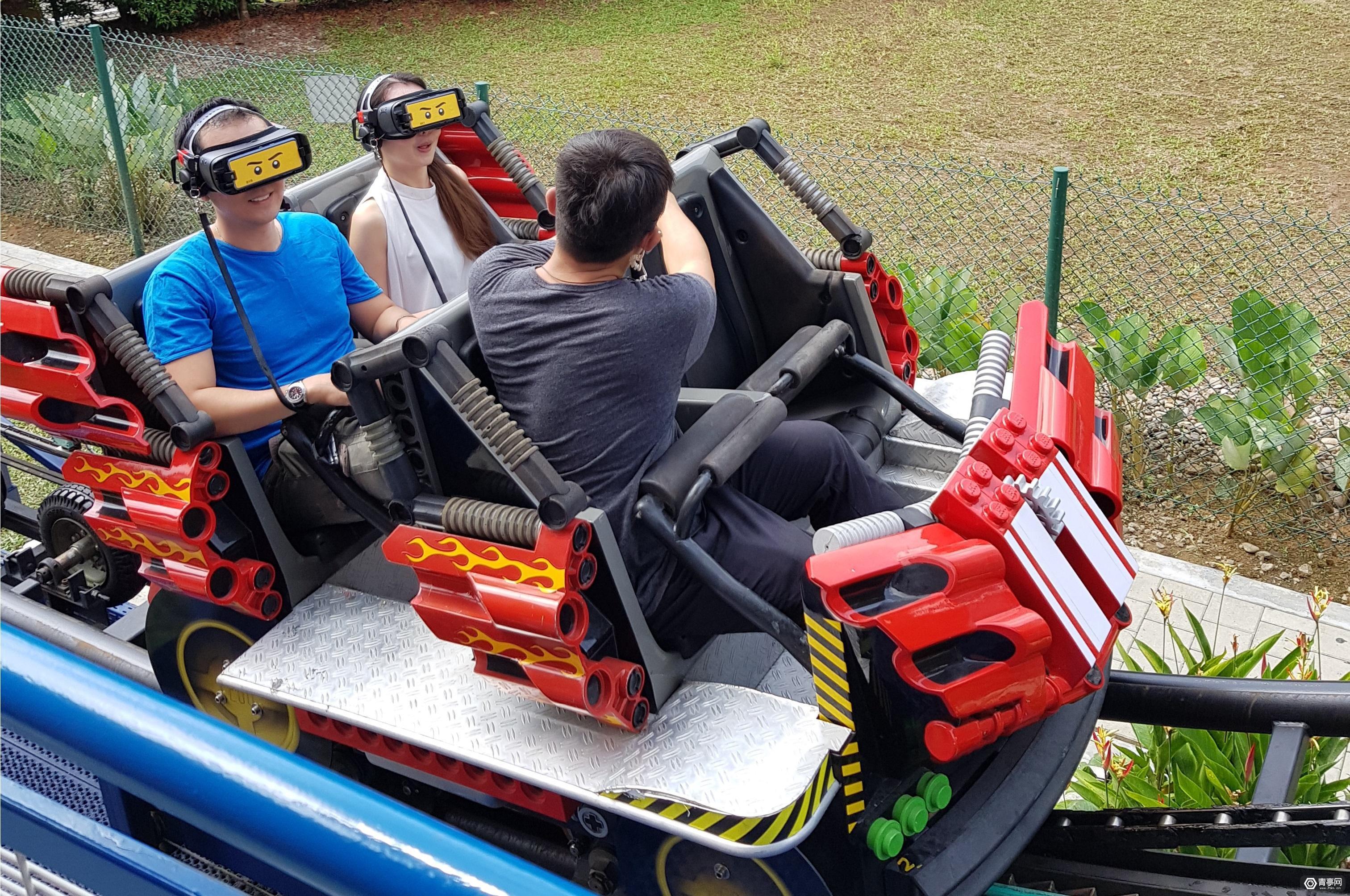 马来西亚乐高乐园将VR与过山车结合,主打儿童娱乐