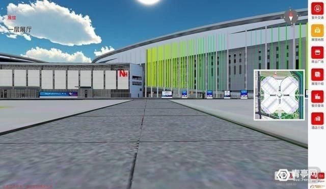 阿里云建了一座3D智能博览馆:140万平1:1打造