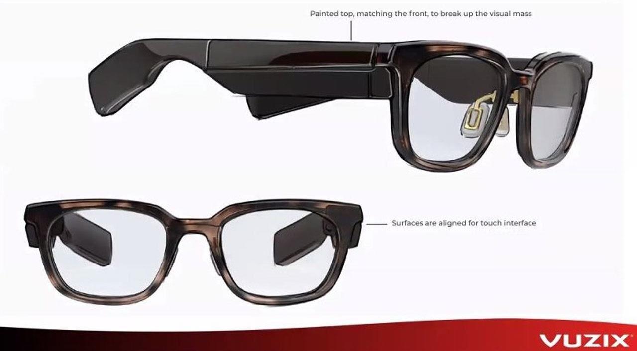 外观更接近Focals,Vuzix下一代AR眼镜产品图曝光