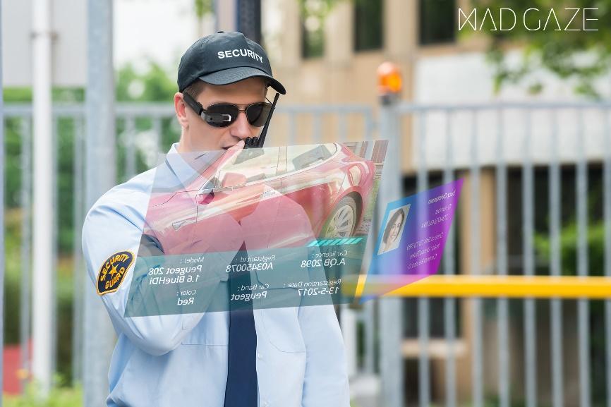 MAD Gaze推出人脸识别AR智能眼镜+AI安防方案赋能智慧城市