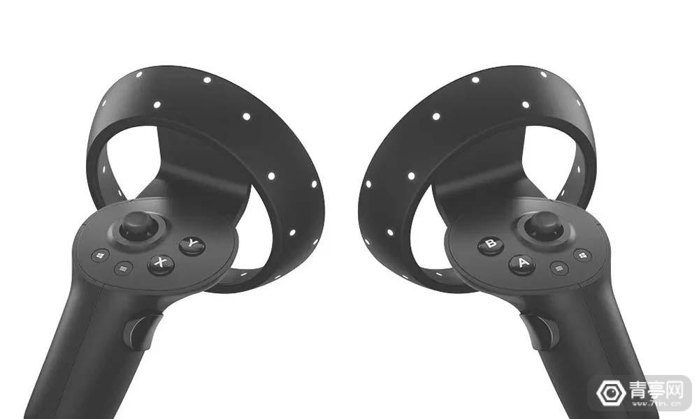 微软VR手柄设计专利公布,外观酷似Quest手柄