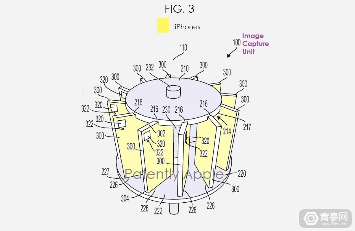 基于14台iPhone,苹果全景VR相机专利公布