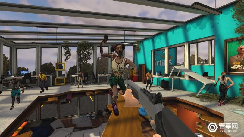 基于索尼电影《僵尸之地》,XR Games发布新款VR射击游戏
