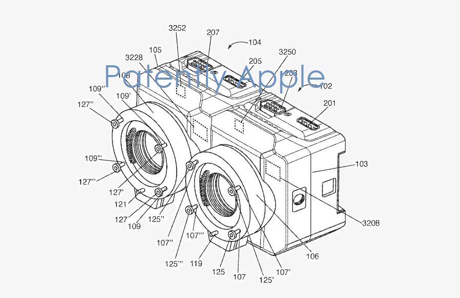 原NextVR研究,苹果简易化双目3D摄像机专利公布