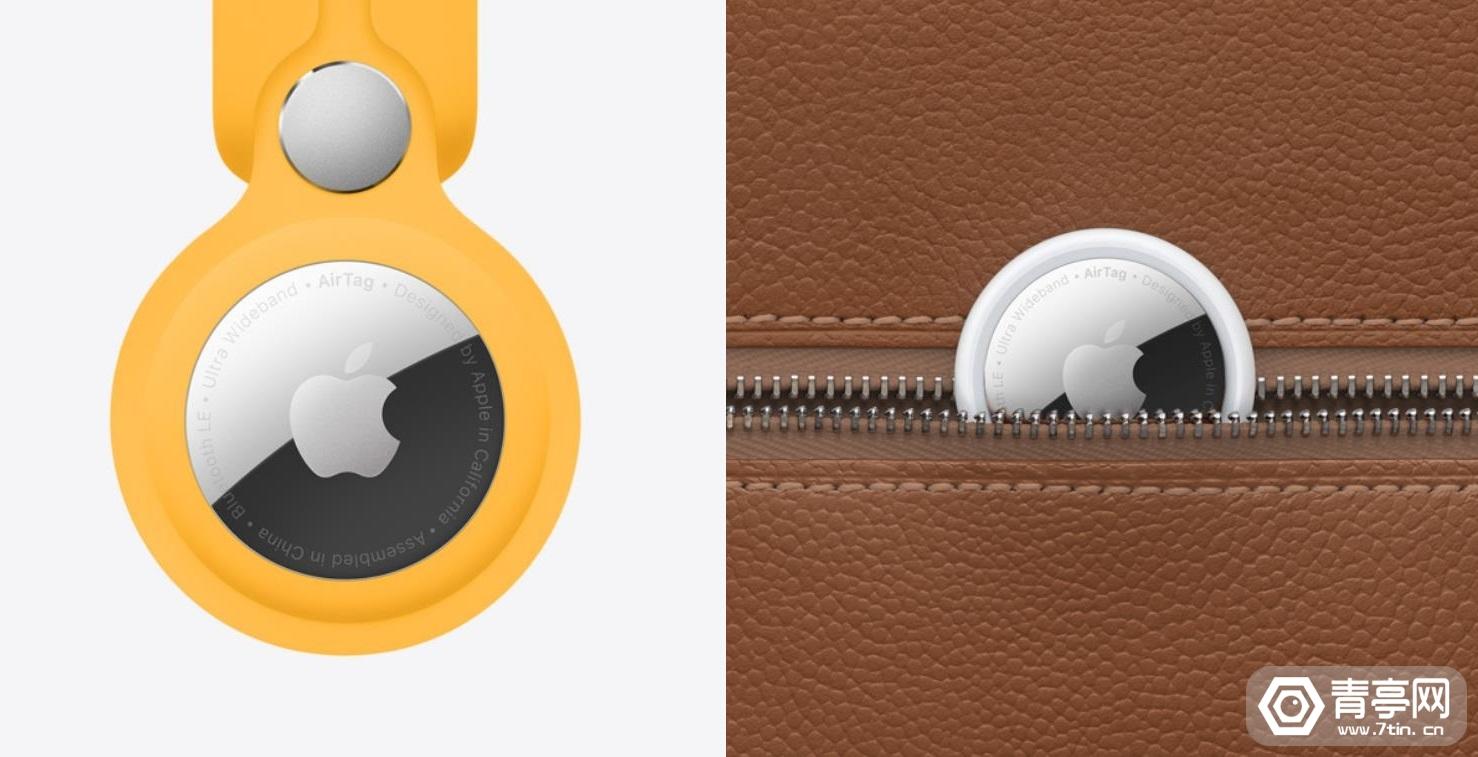 """苹果AirTag细节揭秘:内置用于""""精确查找""""功能的U1芯片"""