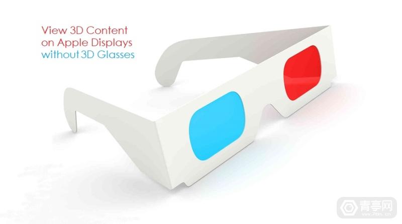 苹果3D显示专利:左右分屏驱动方案,实现3D效果