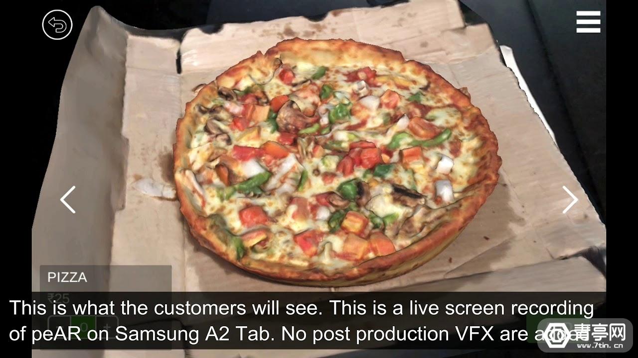 印度AR点餐应用《peAR》获2500万卢比Pre-A轮融资