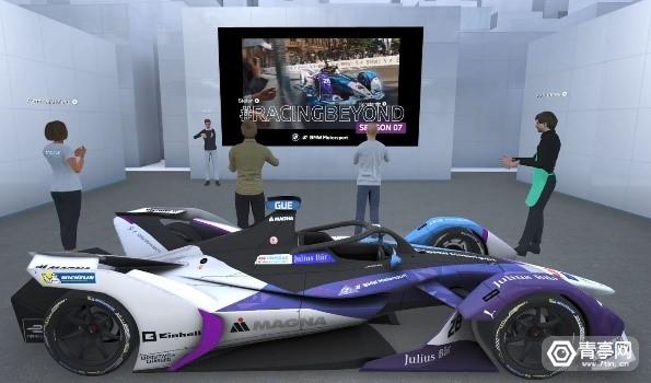 与Pico合作,宝马展示基于《Engage》平台的VR看车体验