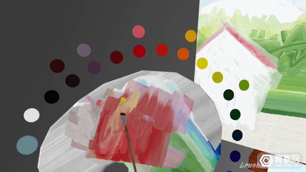 WebVR绘画应用《Brushwork》上线,无需下载即可体验